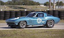 1965 Chevy  / Chevrolet Corvette  Vintage Classic Race Car Photo CA-1032