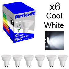 Pack of 6 5W LED GU10 Spotlight Light Bulbs Lamp Cool White Daylight 6500K A 6x