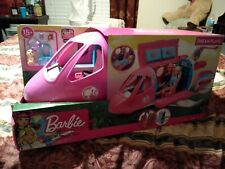 BARBIE DREAMPLANE PLAYSET With 15+ Accessories, NEW