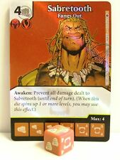 Dice Masters - 1x #105 Sabretooth pescato out FOIL-X-MEN FIRST CLASS