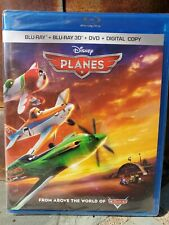 NEW Disney Planes 1 BLUERAY/DVD & 3D NO DIGITAL Kids Cartoon movie blu ray disc