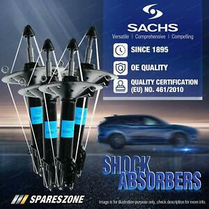Front + Rear Sachs Shock Absorbers for Mazda 626 MX-6 GD Sedan Hatchback Coupe