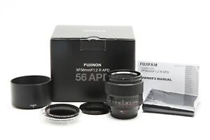 Fuji FUJIFILM XF 56mm f1.2 R APD Lens with ND8 Filter & Box #33127
