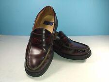 NUNN BUSH Penny Loafers Burgundy Leather Casual Dress Shoes Men 9 M