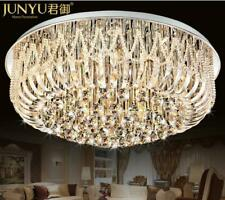 Luxury Remote Crystal Led Chandeliers Pendant Lamps Lighting Ceiling Fixtures