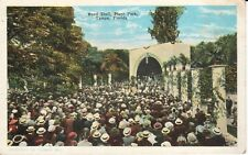 1920's The Band Shell, Plant Park in Tampa, FL Florida PC