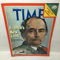 Time Magazine June 29 1981 France's New Look Francois Mitterrand