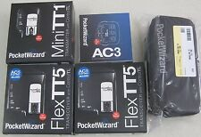 "PocketWizard MiniTT1, 2x FlexTT5, AC3, Case - Canon DSLR ""Combo"""