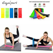 5 PCS Resistance Loop Bands Strength Fitness Exercise Yoga Workout Pull Up Set
