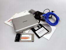 Microsoft mn-610 Wireless kit con PCMCIA tarjeta Wi-Fi