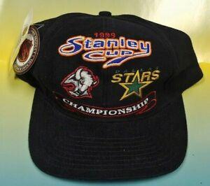 NEW Vintage Buffalo Sabres Dallas Stars 1999 Cup New Era Hat Snapback Hockey NWT