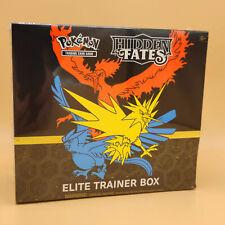 Pokémon Hidden Fates Elite Trainer Box Verborgenes Schicksal (Englisch) - Sealed