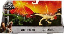 Jurassic World: Velociraptor/Gallimimus - Twin Pack Dinos by Mattel, Inc.