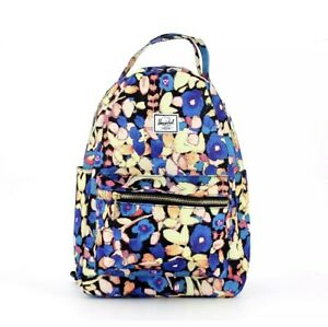 NEW Herschel Supply - Nova Backpack Small  - Rare Print PAINTED/FLORAL