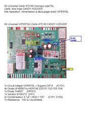 1 Kit  reparation Carte 475740 Invensys viper16L  lave linge CANDY HOOVER
