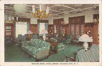 Atlantic City, NEW JERSEY - Hotel Dennis - Reading Room