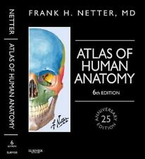 Netter Atlas of Human Anatomy, Professional 6th Edition - Hardbound - Like New