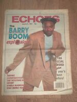 ECHOES MAGAZINE JANUARY 5TH 1991.... NORTHERN SOUL, FUNK, REGGAE AND MOTOWN