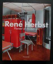 Livre René HERBST Pioneer of modernism Flammarion book design 215 pages