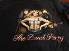 """The Band Perry """"On Tour"""" Concert Tee Shirt Medium S7"""