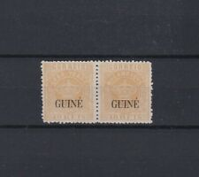 Portugal - Portuguese Guine Crown Nice Pair With Error MH