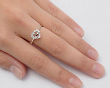 USA Seller Heart CZ Ring Sterling Silver 925 Best Deal Jewelry Size 10