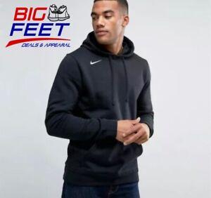 Size 4XL Nike Sportswear NSW TRIPLE BLACK Club Fleece Hoodie Jacket 835585 010