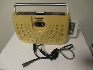 "Vintage Panasonic RS-833S ""Swiss Cheese"" Portable Stereo 8-Track Player Working"