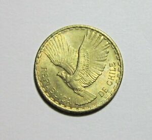 CHILE. 2 CENTAVOS, 1965. UNCIRCULATED.