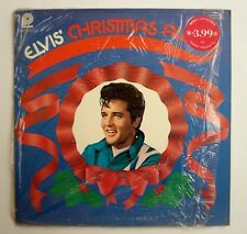 33T ELVIS PRESLEY- CHRISTMAS ALBUM-PRESSAGE USA 1975- CAS 2428- CELLO-IN SHRINK