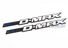2 NEW BLACK & WHITE DURAMAX DMAX ALLISON 6.6HD 2500HD 3500HD BADGES EMBLEMS PAIR