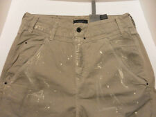 FireTrap Cotton Blend Cargo Gray Jeans 30 R Supa Carrot