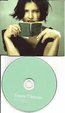 TANITA TIKARAM Stop Listening 1998 Made in EUROPE PROMO DJ CD single MUMCD102DJX