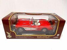 Road Legends  Yat Ming  '1957 Red Chevrolet Corvette'   Die-Cast  1/18