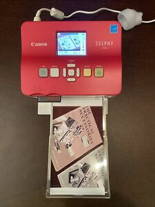 CANON SELPHY CP780 SILVER COMPACT DIGITAL THERMAL PHOTO PRINTER