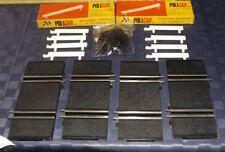 OLD VINTAGE POLICAR POLISTIL 4 RETTILINEI P.15 MM. 65 + 2 BOX PARATIE P19 SLOT