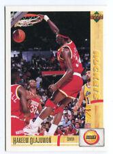 1993 Upper Deck French McDonald's #25 Hakeem Olajuwon Rockets carte Basketball