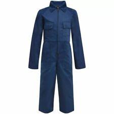 vidaXL Kinderoverall Maat 134/140 Blauw Kinder Overall Ketelpak Kinderkleding