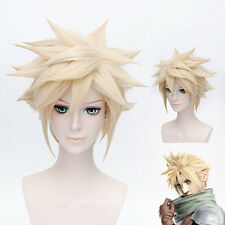 Final Fantasy VII Cloud Strife DMMD Virus Trip FF7 Anime Cosplay Wig +Wig CAP