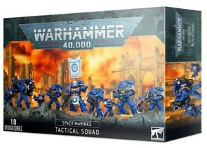 WARHAMMER 40K ~ SPACE MARINE TACTICAL SQUAD ~ NEW ~ UNOPENED