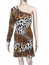 Womens Leopard Print Off Shoulder Dress, NEW, SIZE SMALL, HOT!