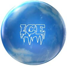 12lb Ice Polyester Bowling Ball Ice Blue Spare Ball Ideal Dry Lane Ball