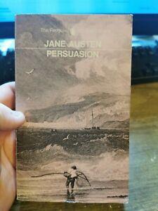 persuasion jane austen rare 1971 orange penguin paperback