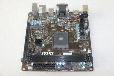 100% tested MSI AM1I Computer Motherboard DDR3 AMD Socket AM2 Mini-ITX