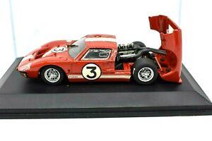 MODELLINO AUTO Ford GT40 MKII Le Mans SCALA 1/43 GT 40 MK2 asta DIECAST RACING