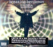 Breaking Benjamin Phobia CD DVD 2 CDs 2007