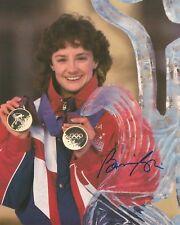 BONNIE BLAIR - WINTER OLYMPICS GOLD MEDAL WINNER 8x10 Signed Photo Autograph