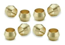 "Brass Olives 5/16"". Compression. Pipe fitting. Plumbing. Pack of 5 Top Quality"