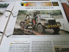 Archiv Militärfahrzeuge Schwere Radfahrzeuge 14.1 Volvo N 10 6x6 Schweden