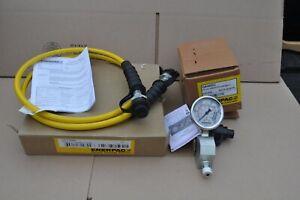 ENERPAC HC7206C HOSE W/ GA45GC  GAUGE AND COUPLER  NEW